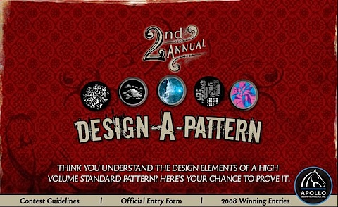 Apollo Design-A-Pattern Header 2nd Annual