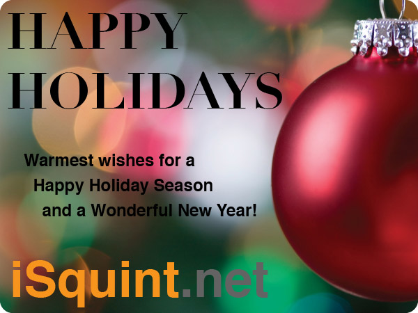 Happy Holidays from iSquint.net
