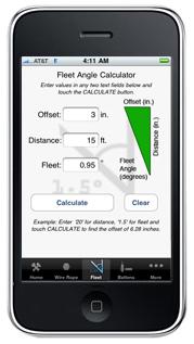 JR Clancy iRigging iPhone App