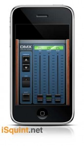 DMX Color Mixer iPhone App