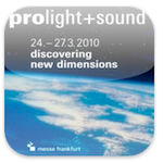 #ProLight + Sound Releases iPhone App #PLS2010
