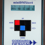 Goddard Design Announces New DMX Tester – MiniDMXter4