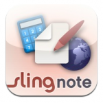 Review: iPad App: sling Note