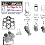 Field Template Releases **finally** SoftSymbols for Vectorworks 2017